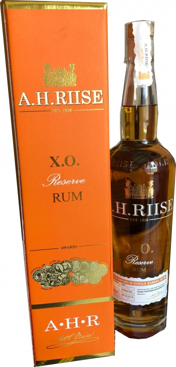 A.H.RIISE X.O.Reserve Rum  40%  0,7 Liter