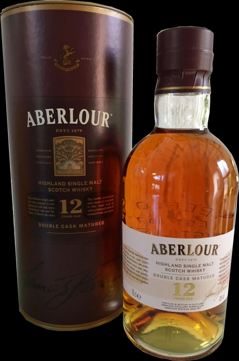 Aberlour 12 Years Single Malt Whisky Double Cask Matured 40% 0,7 Liter