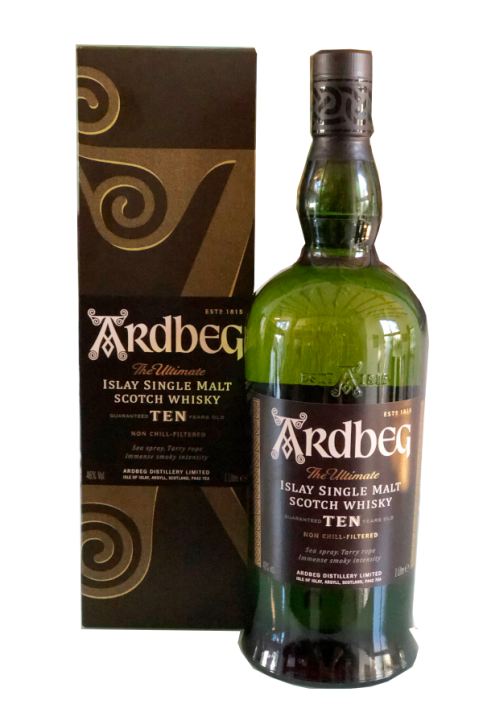 Ardbeg 10 Years Single Malt Whisky 40%  1 Liter