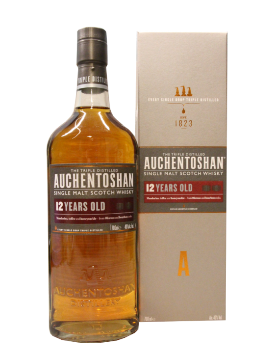 Auchentoshan 12 Years Old 1823 40% 0,7 Liter