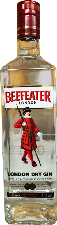 Beefeater London Dry Gin 47% 1 Liter