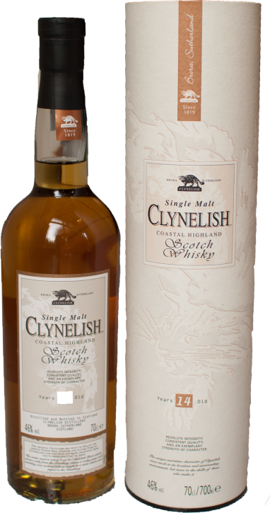 Clynelish 14 Years Coastal Highland  46%  0,7 Liter