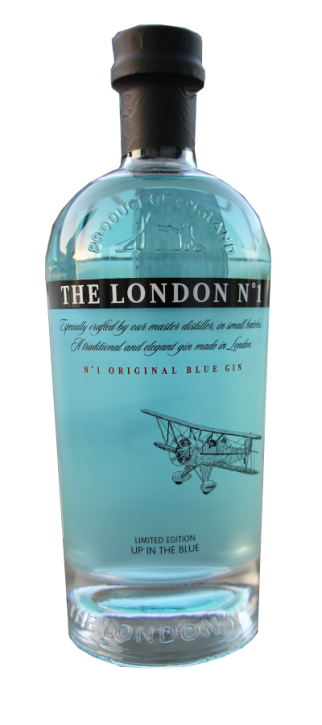THE LONDON GIN No° 1 original Blue Gin  47%  1,00 Liter