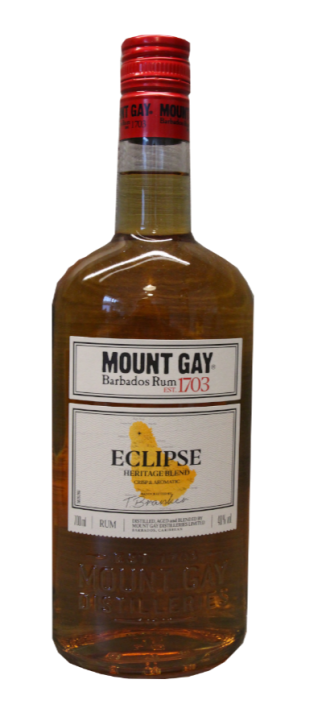 Mount Gay Eclipse Barbados Rum 40% 0,7 Liter
