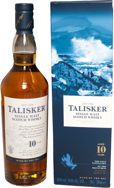Talisker 10 Years Isle of Skye  45,8%  0,7 Liter