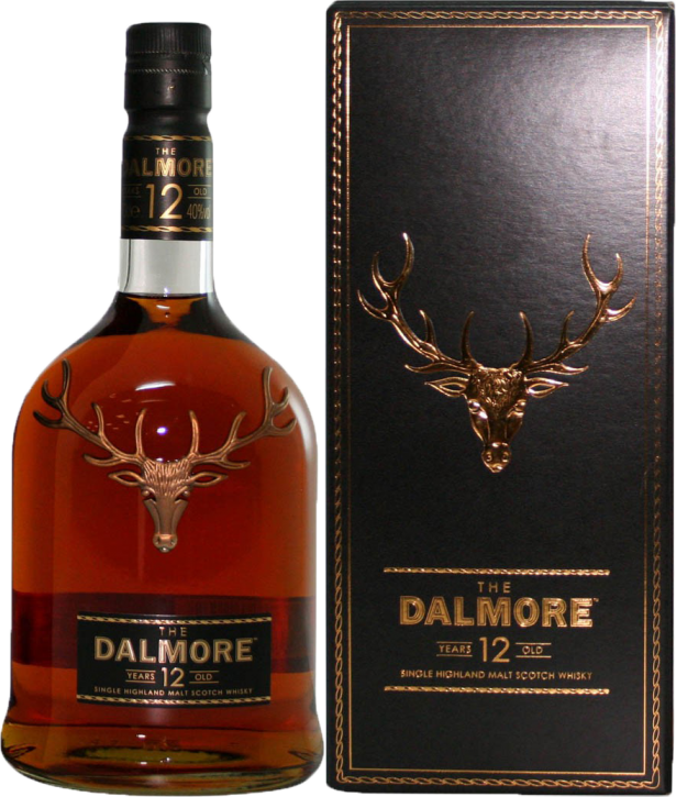 The Dalmore 12 Years  40% 0,7 Liter