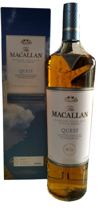 The Macallan QUEST 40%  1,0 Liter