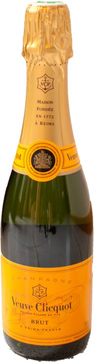 Veuve Clicquot Brut 0,375 Liter Demi / Filette