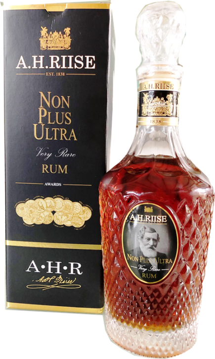 A.H.RIISE Non Plus Ultra Very Rare Rum 42%  0,7 Liter