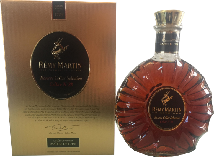 Remy Martin Reserve Cellar Selection Cellar No. 28 Cognac 40% 0,7l Flasche