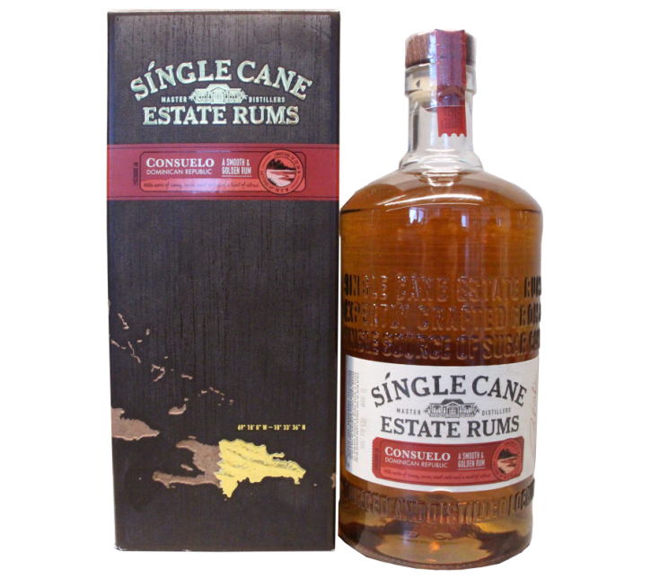CONSUELO Single Cane Estate Rums  40% 1 Liter